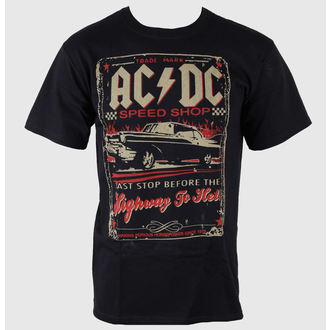 t-shirt metal uomo AC-DC - Speedshop - LIQUID BLUE, LIQUID BLUE, AC-DC