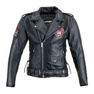 Giacca da motociclista da oumo BLACK HEART - PERFECTIS - BLACK, BLACK HEART