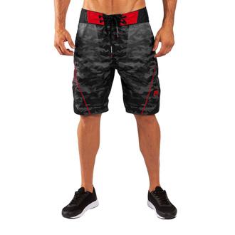 Pantaloncini da uomo Venum - Trooper - Nero / Rosso, VENUM