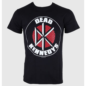 t-shirt metal uomo Dead Kennedys - Brick Logo - LIVE NATION, LIVE NATION, Dead Kennedys