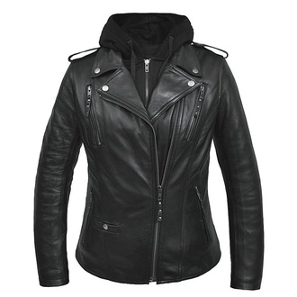 Giacca da motociclista da donna (set felpa con cappuccio + giacca) UNIK, UNIK