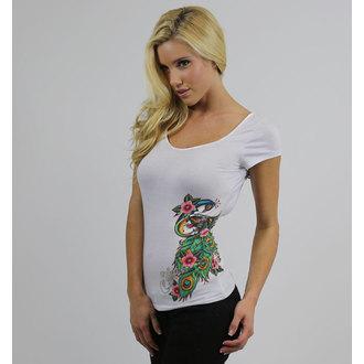 t-shirt hardcore donna - Sa Peacock (lace up back cap) - SULLEN, SULLEN