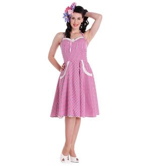 vestito donna HELL BUNNY - Carlotta - Pink, HELL BUNNY