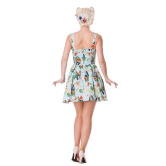 vestito donna HELL BUNNY - Becky - Blu, HELL BUNNY