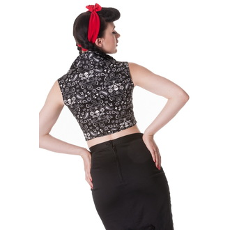 camicia (gilet) donna HELL BUNNY - Bandana - NR, HELL BUNNY