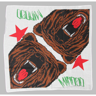 bandana MAFIOSO - Cali Bear - White, MAFIOSO