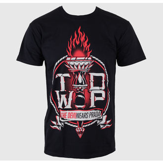 t-shirt metal uomo Devil Wears Prada - Torch Black - LIVE NATION, LIVE NATION, Devil Wears Prada