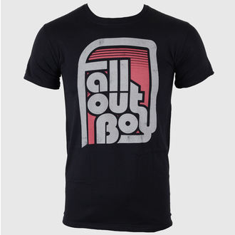 t-shirt metal uomo Fall Out Boy - Retro Black - LIVE NATION, LIVE NATION, Fall Out Boy
