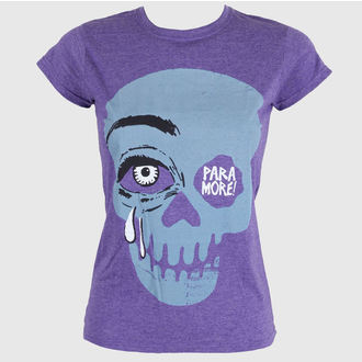 t-shirt metal donna Paramore - Cry A Little Purple - LIVE NATION, LIVE NATION, Paramore