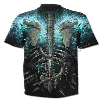 t-shirt uomo - Flaming Spine - SPIRAL, SPIRAL
