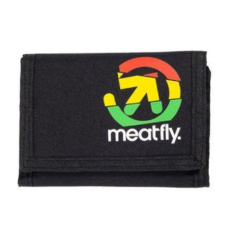 Portafoglio MEATFLY - HARPOON - UN - 1/26/55 - Nero verde, MEATFLY