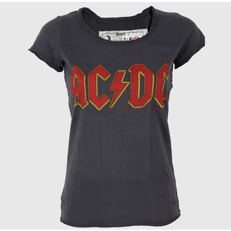 t-shirt metal donna AC-DC - - AMPLIFIED, AMPLIFIED, AC-DC