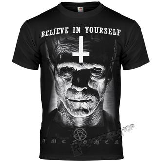 t-shirt hardcore uomo - FRANKENSTEIN - AMENOMEN, AMENOMEN
