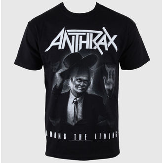 t-shirt metal uomo Anthrax - - ROCK OFF, ROCK OFF, Anthrax