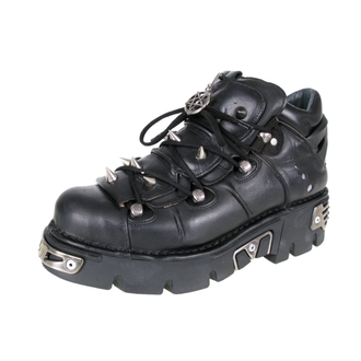 stivali in pelle - Prick Shoes (110-S1) Black - NEW ROCK, NEW ROCK