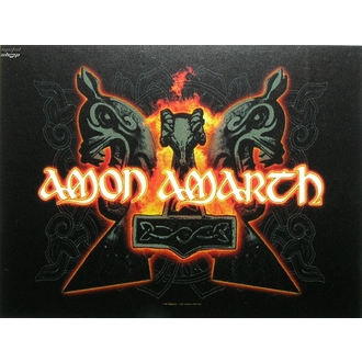 bandiera Amon Amarth - Martelli, HEART ROCK, Amon Amarth