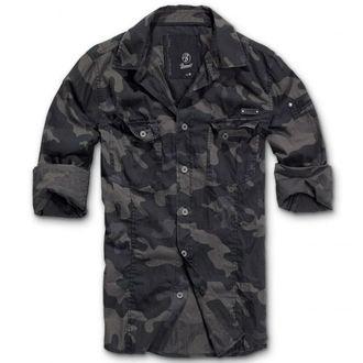 camicia uomo BRANDIT - Men Shirt Slim Darkcamo, BRANDIT