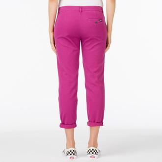pantaloni donna VANS - G Pieghe Chino - Boysenberry, VANS