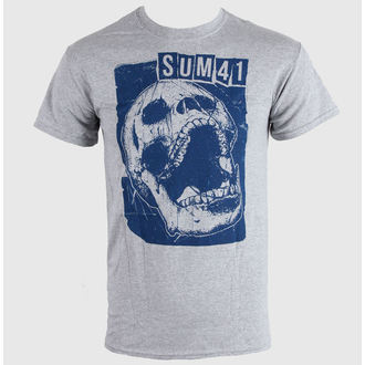 t-shirt metal uomo Sum 41 - Skull Sports - LIVE NATION, LIVE NATION, Sum 41