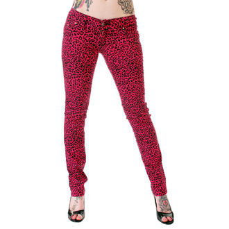 pantaloni donna 3RDAND56th - Print Skinnies - Pink, 3RDAND56th