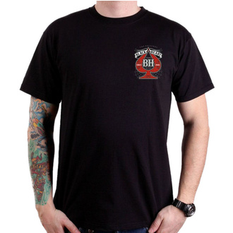 t-shirt street uomo - MISS PIN UP - BLACK HEART, BLACK HEART