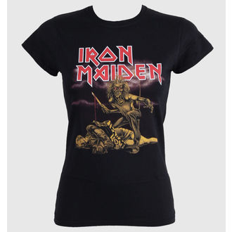 t-shirt metal donna Iron Maiden - Slasher - ROCK OFF, ROCK OFF, Iron Maiden