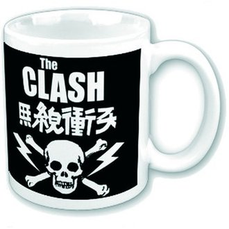 tazza The Clash - Skull & Crossbones - ROCK OFF, ROCK OFF, Clash