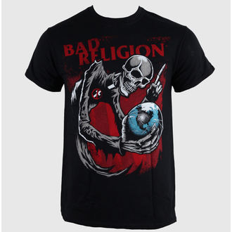 t-shirt metal uomo Bad Religion - Skull - LIVE NATION, LIVE NATION, Bad Religion