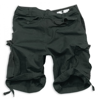 pantaloncini uomo SURPLUS VINTAGE Short - Nero - 05-5596-63