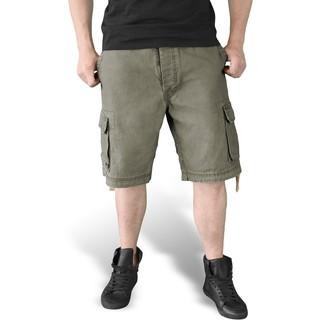 pantaloncini uomo SURPLUS VINTAGE - Oliv - 05-5596-61