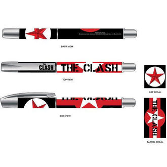 penna a sfera The Clash - Star & Stripes - ROCK OFF, ROCK OFF, Clash