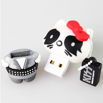 flash disco USB 8GB (ciondolo) KISS - Hello Kitty - The Catman, HELLO KITTY, Kiss