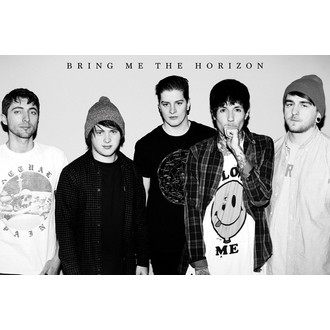 poster Bring Me The Horizon - Black & W, GB posters, Bring Me The Horizon