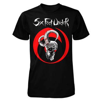 Maglietta metal da uomo Six Feet Under - Goatskull - ART WORX, ART WORX, Six Feet Under