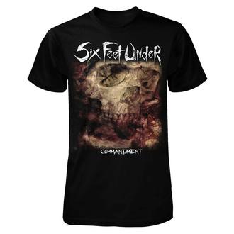 Maglietta metal da uomo Six Feet Under - Commandment - ART WORX, ART WORX, Six Feet Under