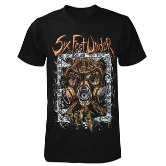 t-shirt metal uomo Six Feet Under - Under Gasmask - ART WORX, ART WORX, Six Feet Under