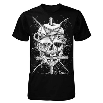 t-shirt metal uomo Six Feet Under - Penta Skull - ART WORX, ART WORX, Six Feet Under