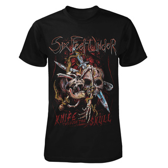 Maglietta metal da uomo Six Feet Under - Knife thru the Skull - ART WORX, ART WORX, Six Feet Under