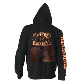 Felpa con cappuccio da uomo Hammerfall - Dominion World Tour - ART WORX, ART WORX, Hammerfall