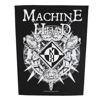 Grande toppa Machine Head - Crest - RAZAMATAZ, RAZAMATAZ, Machine Head