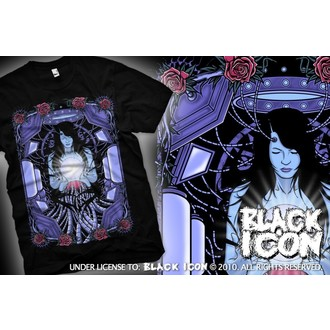 t-shirt hardcore uomo - Maiden - BLACK ICON, BLACK ICON