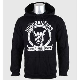 felpa con capuccio uomo - Headbangers - RESTLESS, RESTLESS
