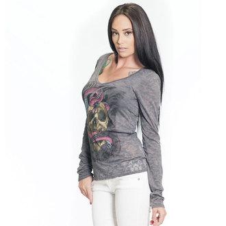 t-shirt hardcore donna - SA Serpent Burnout - SULLEN, SULLEN