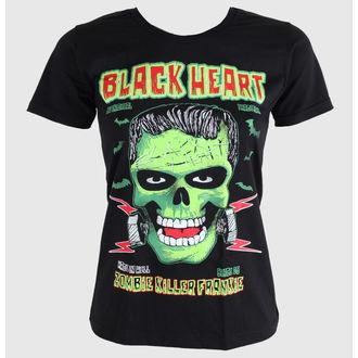 t-shirt street donna - Frankie - BLACK HEART - Frankie, BLACK HEART
