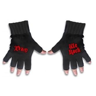 guanti senza dita Dio - Noi & logo Rock - RAZAMATAZ, RAZAMATAZ, Dio