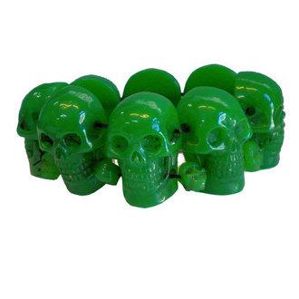 bracciale KREEPSVILLE SIX SIX SIX - Skull - Verde, KREEPSVILLE SIX SIX SIX