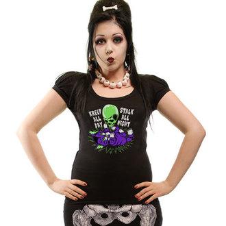 t-shirt donna - Kreep n Stalk Puff - KREEPSVILLE SIX SIX SIX, KREEPSVILLE SIX SIX SIX