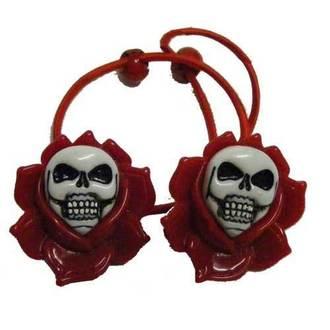 elperstico per cperpelli KREEPSVILLE SIX SIX SIX - Skull Rose - Red, KREEPSVILLE SIX SIX SIX