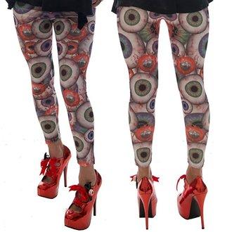 pantaloni donna (leggings) KREEPSVILLE SIX SIX SIX - Obbrobrio, KREEPSVILLE SIX SIX SIX