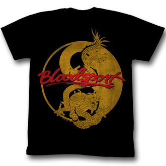 t-shirt film uomo Bloodsport - Medallion - AMERICAN CLASSICS - AC, AMERICAN CLASSICS, Senza esclusione di colpi